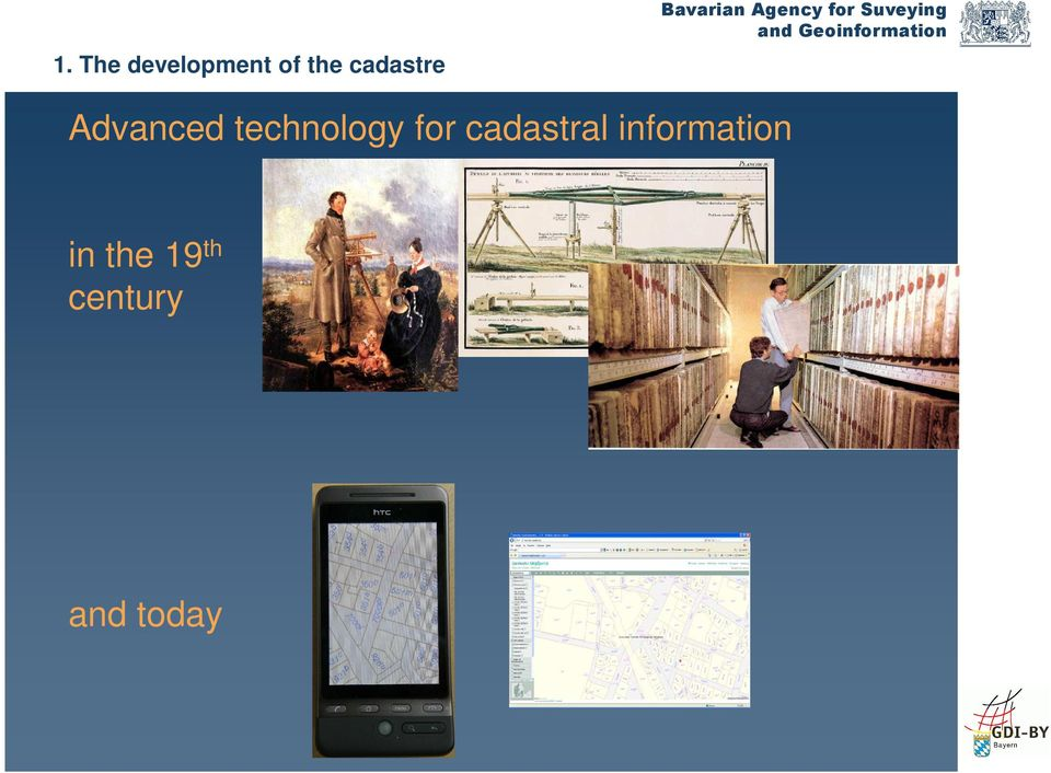 technology for cadastral