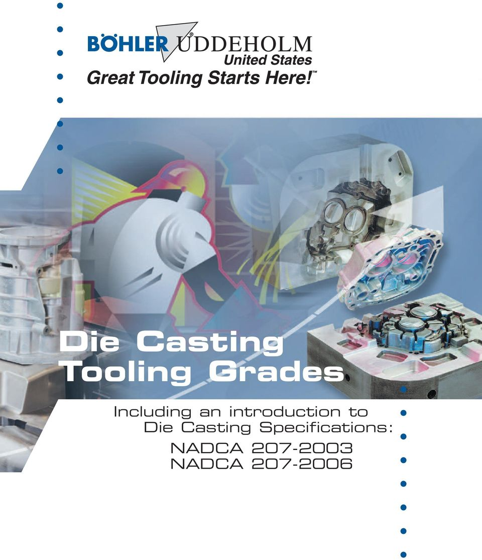 Die Casting Specifications: