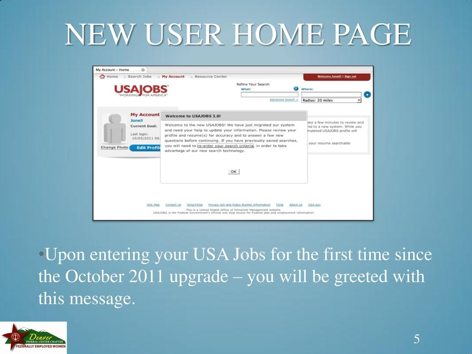 since the October 2011 upgrade you