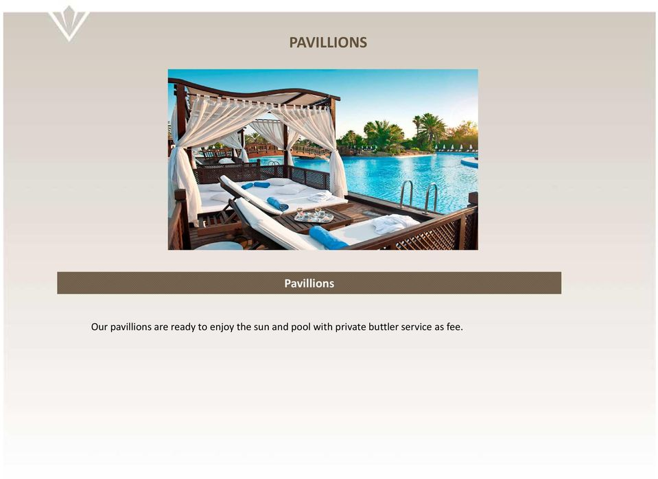 enjoy the sun and pool with