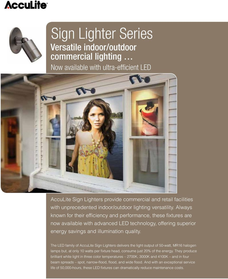 Always known for their efficiency and performance, these fixtures are now available with advanced LED technology, offering superior energy savings and illumination quality.