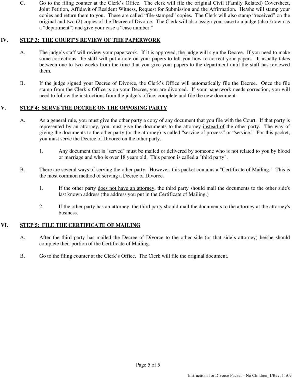 Doc12981662 Fake Divorce Decree Doc12751650 Blank Divorce – Blank Divorce Decree