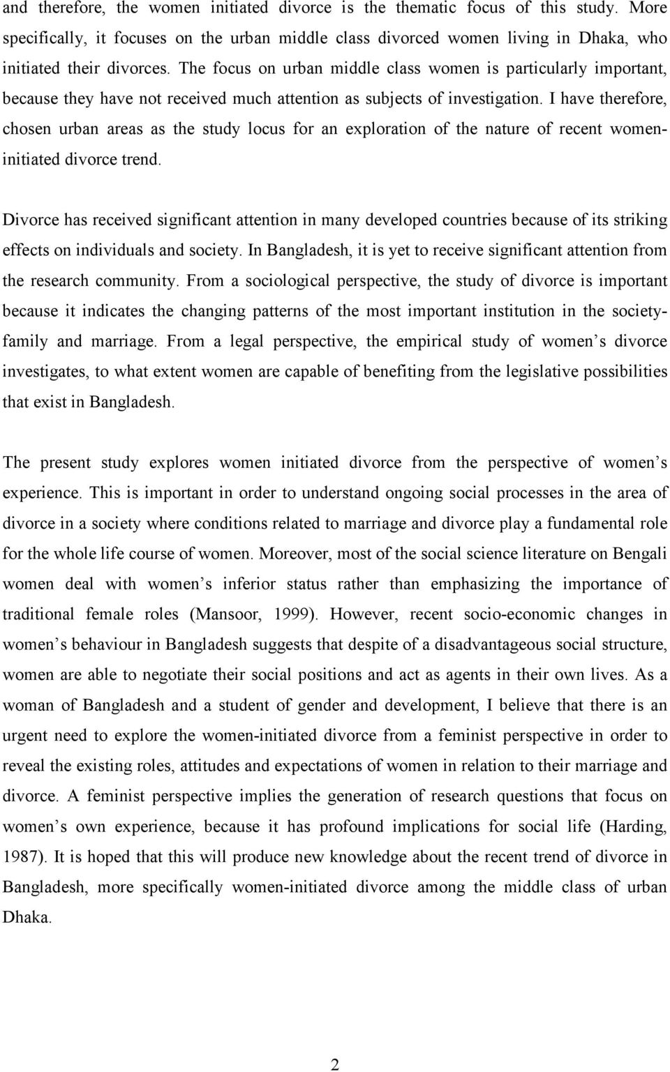 thesis on gender and development