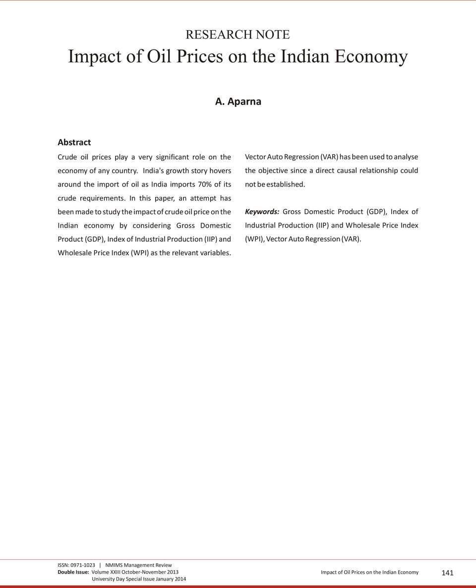 a study of the impact of oil and gas prices in the economy Oil prices and the malaysia economy norasibah abdul jalil, gairuzazmi mat ghani and jarita duasa in many studies, the study on oil price impact uses world oil price (pw), while a number of studies use world oil price converted in domestic currency.