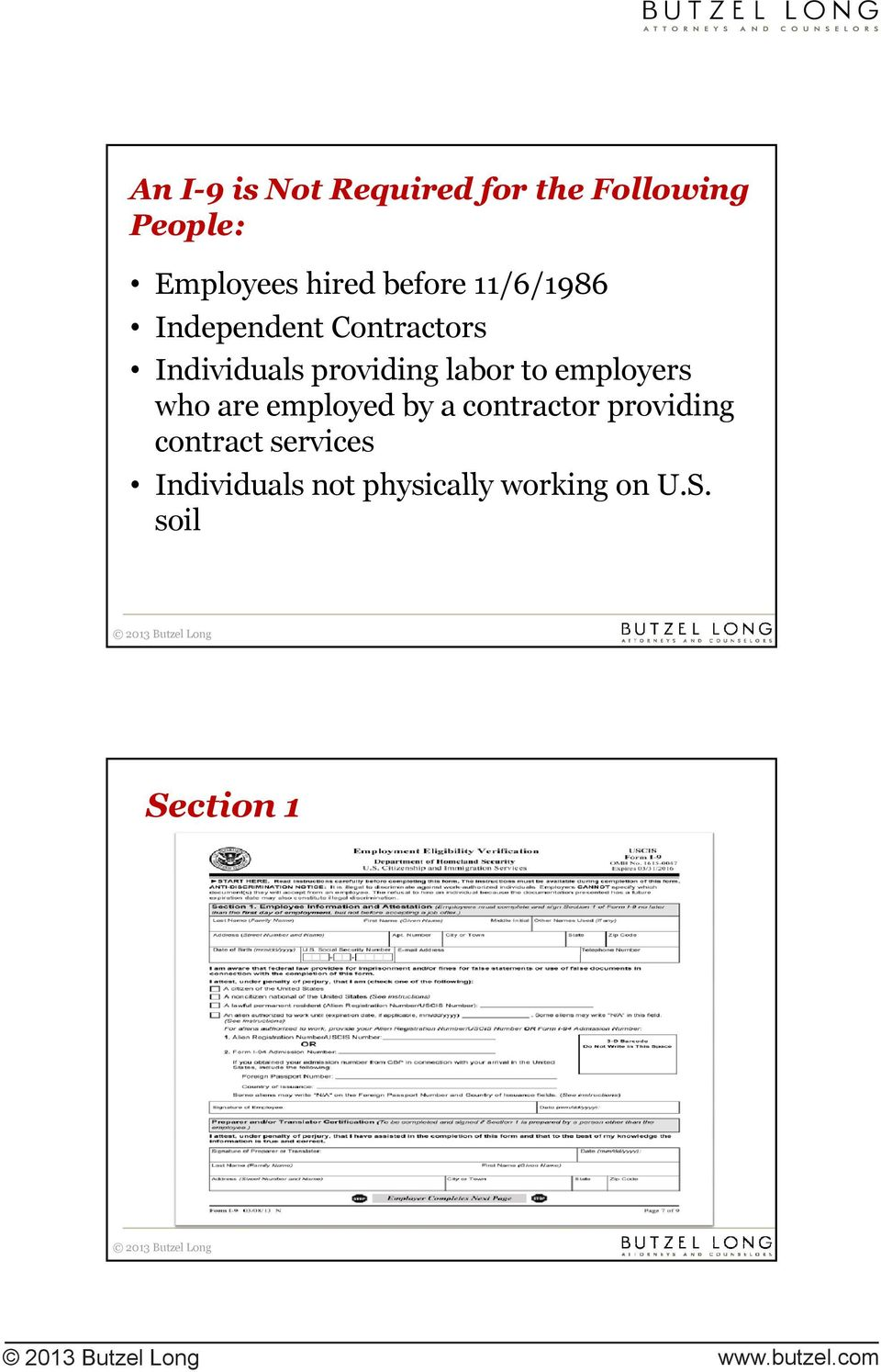 employers who are employed by a contractor providing contract services