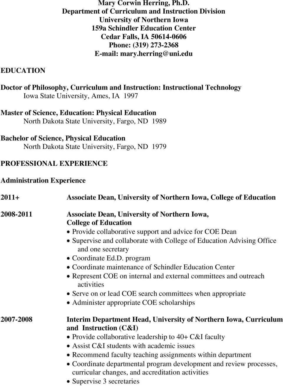 Thesis on educational management and supervision