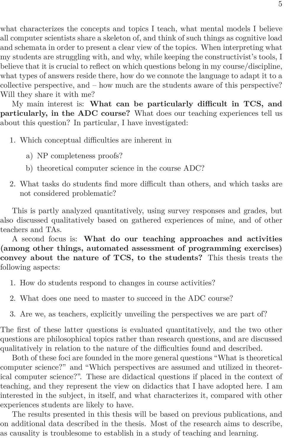 thesis topics in education pdf