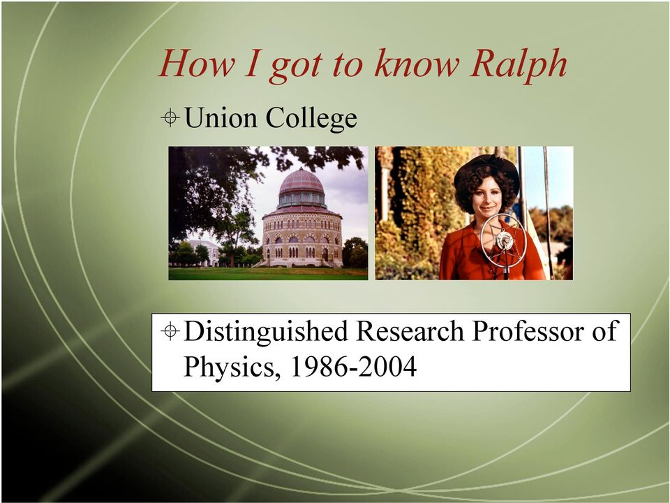 Distinguished Research