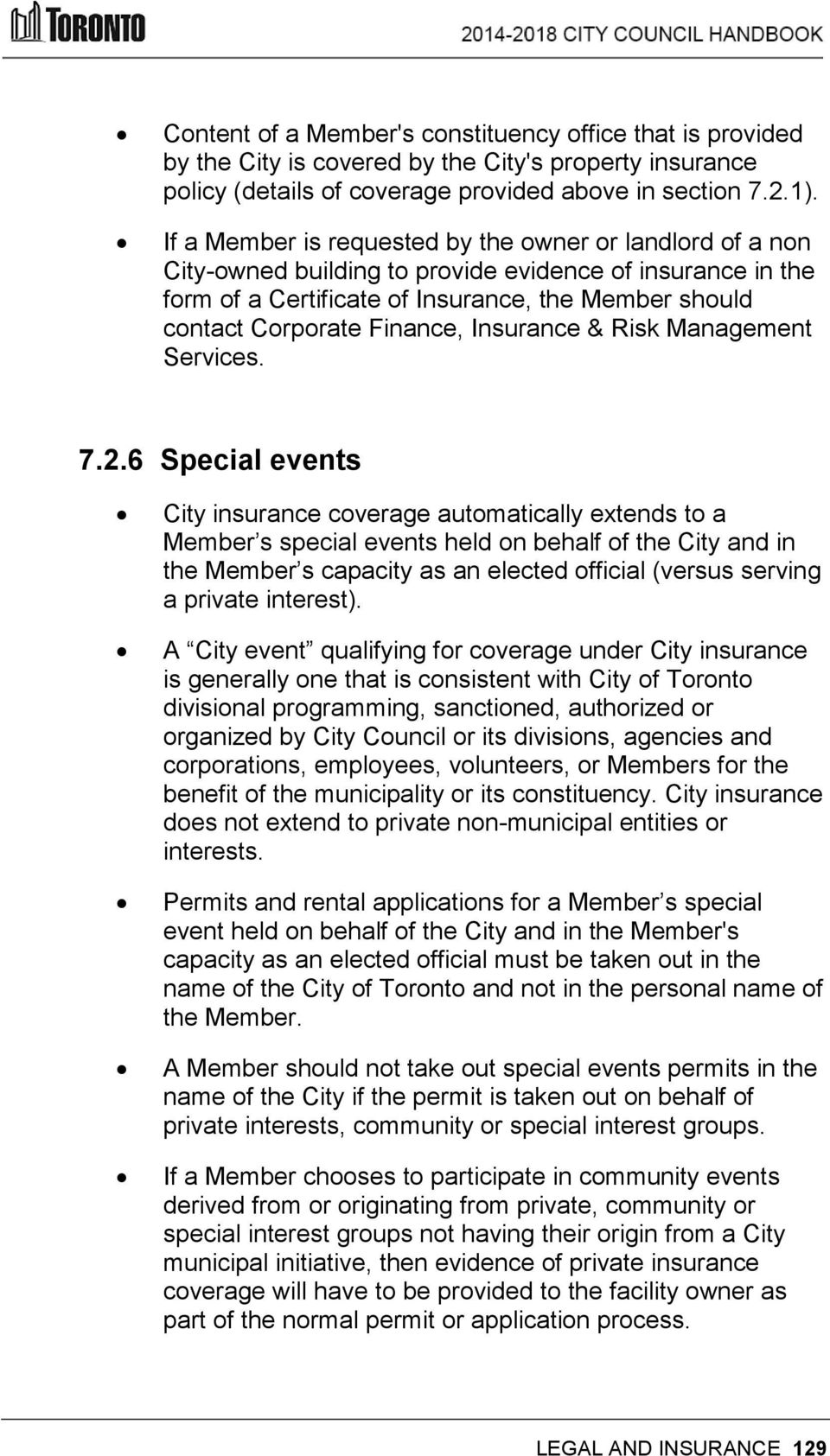 Insurance & Risk Management Services. 7.2.