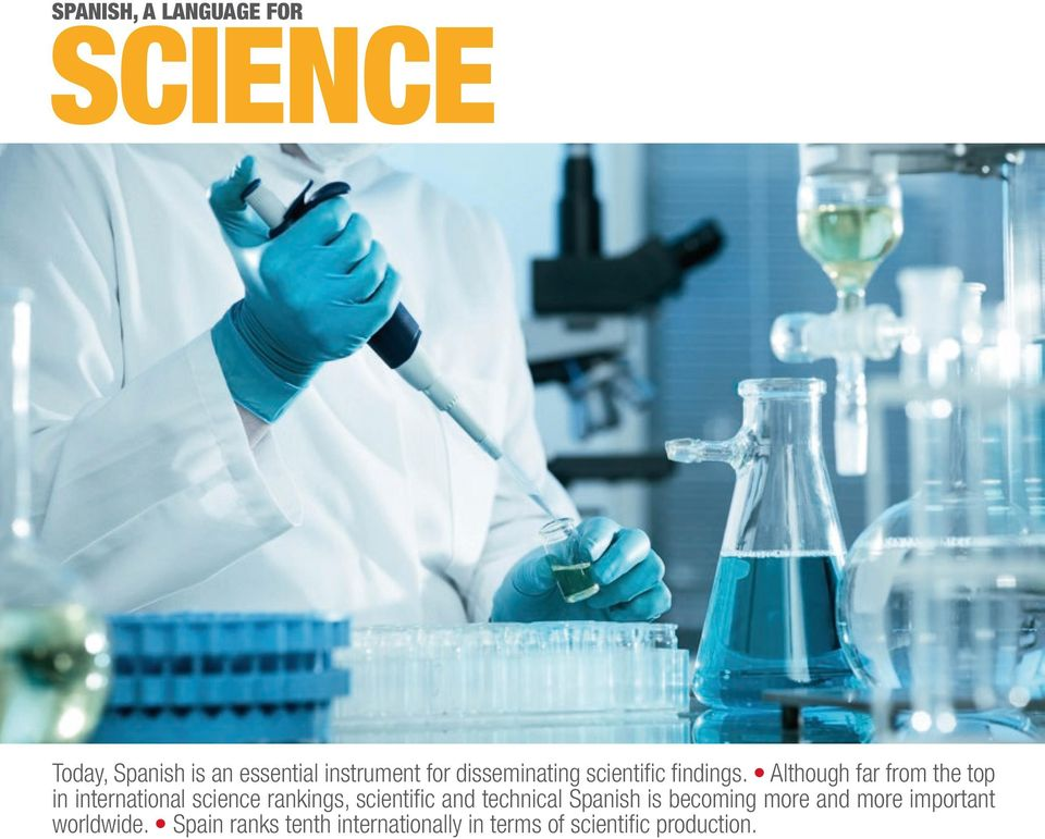 Although far from the top in international science rankings, scientific and