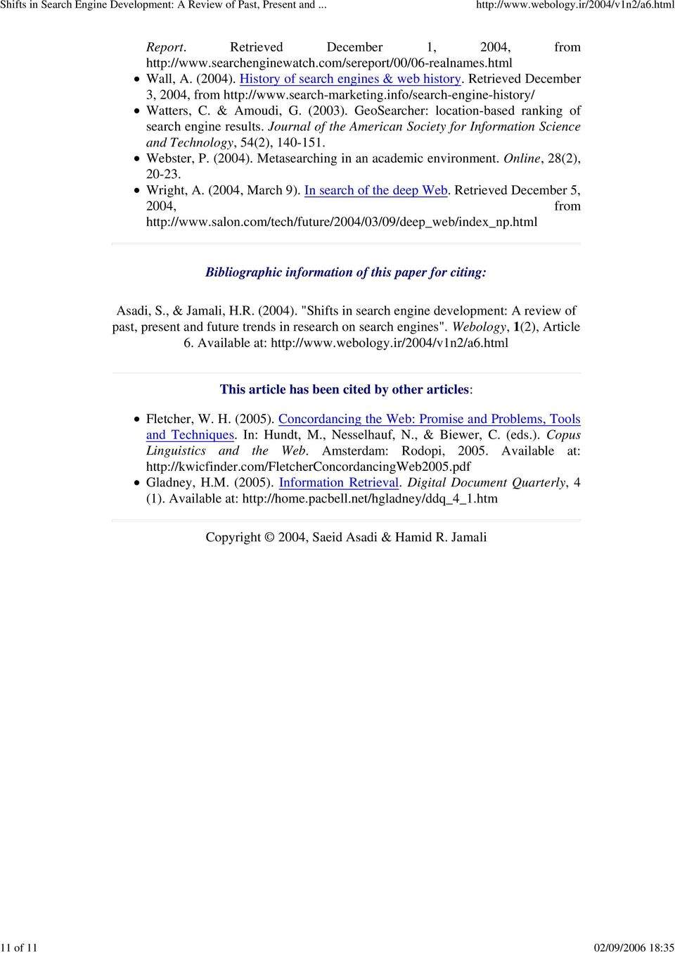 Computer science research paper search engine