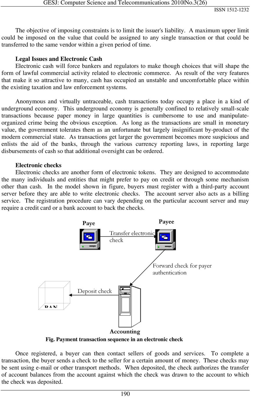 types of electronic payment system pdf