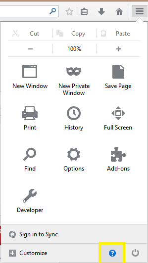 10. Firefox browser reset - Click the Open menu button in the top-right corner of the screen (3