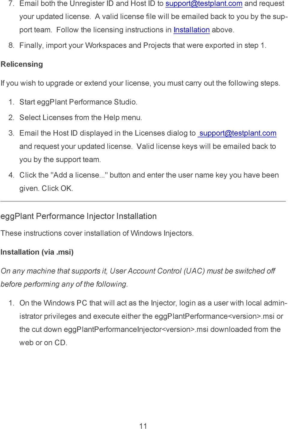 eggplant Performance Release Notes 5 Version About This