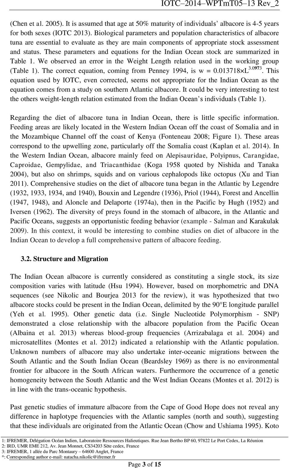 Distinction between north and south in season of migration to the north essay