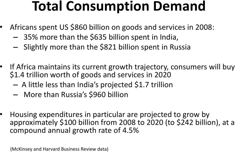 4 trillion worth of goods and services in 2020 A little less than India s projected $1.