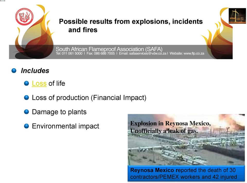 Environmental impact Explosion in Reynosa Mexico, Unofficially a leak of