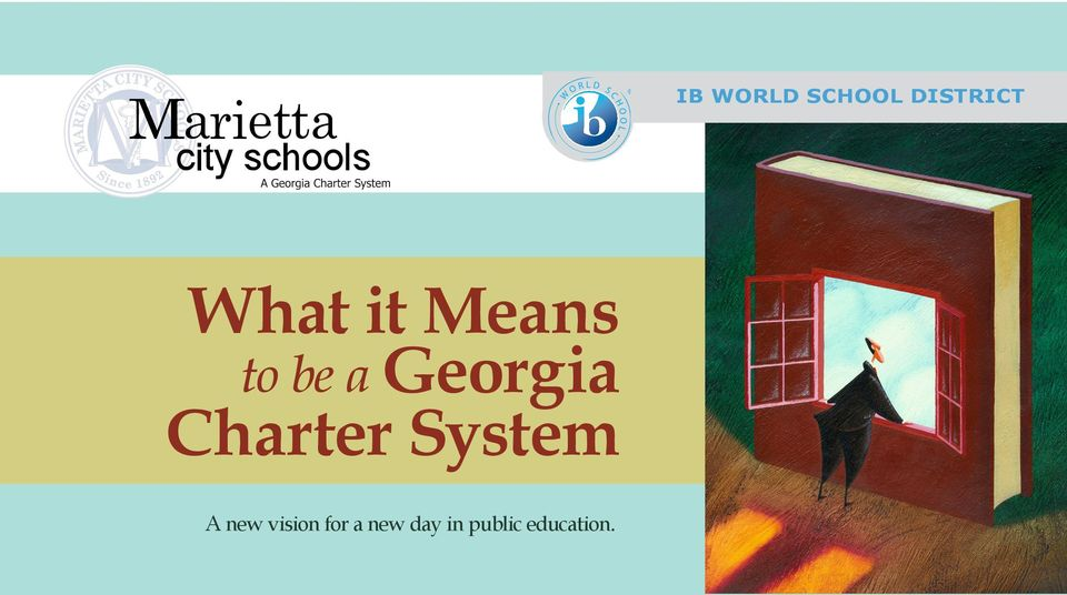 Charter System A new vision