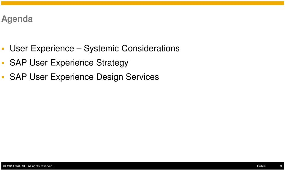 Strategy SAP User Experience Design