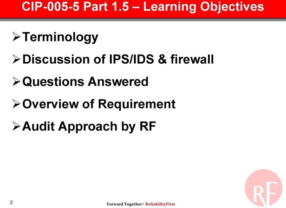 Discussion of IPS/IDS & firewall