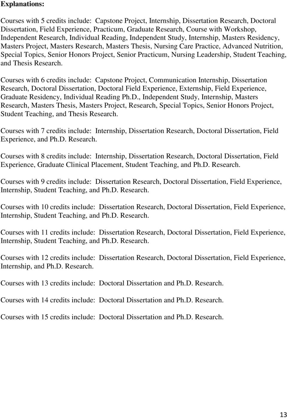 Doctoral dissertation research experience