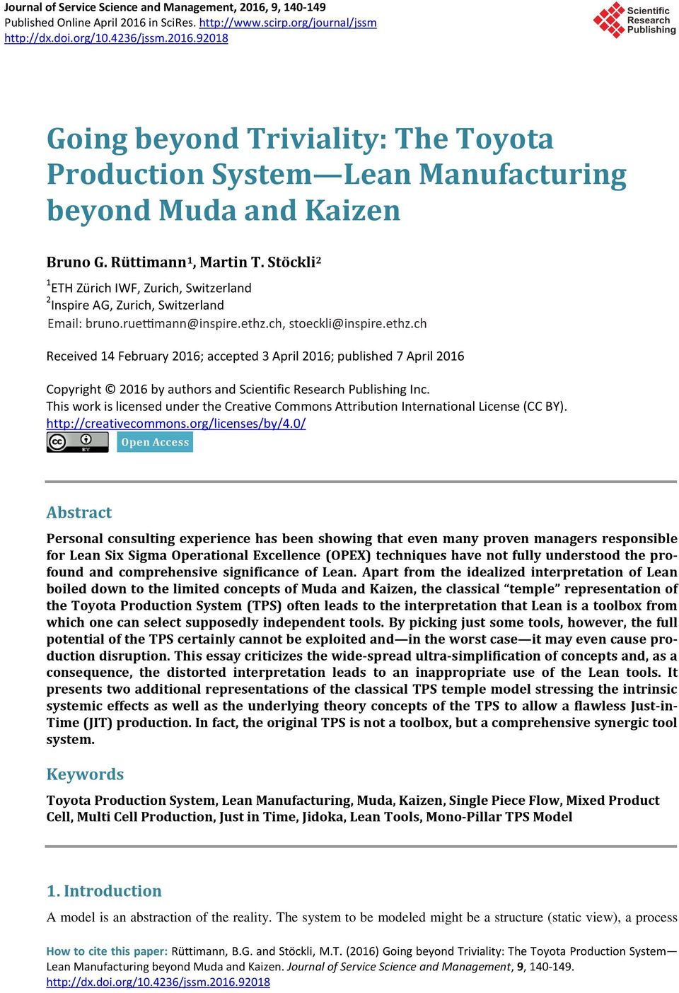 toyota production system essay The toyota production system essays: over 180,000 the toyota production system essays, the toyota production system term papers, the toyota production system research paper, book reports 184 990 essays, term and research papers available for unlimited access.