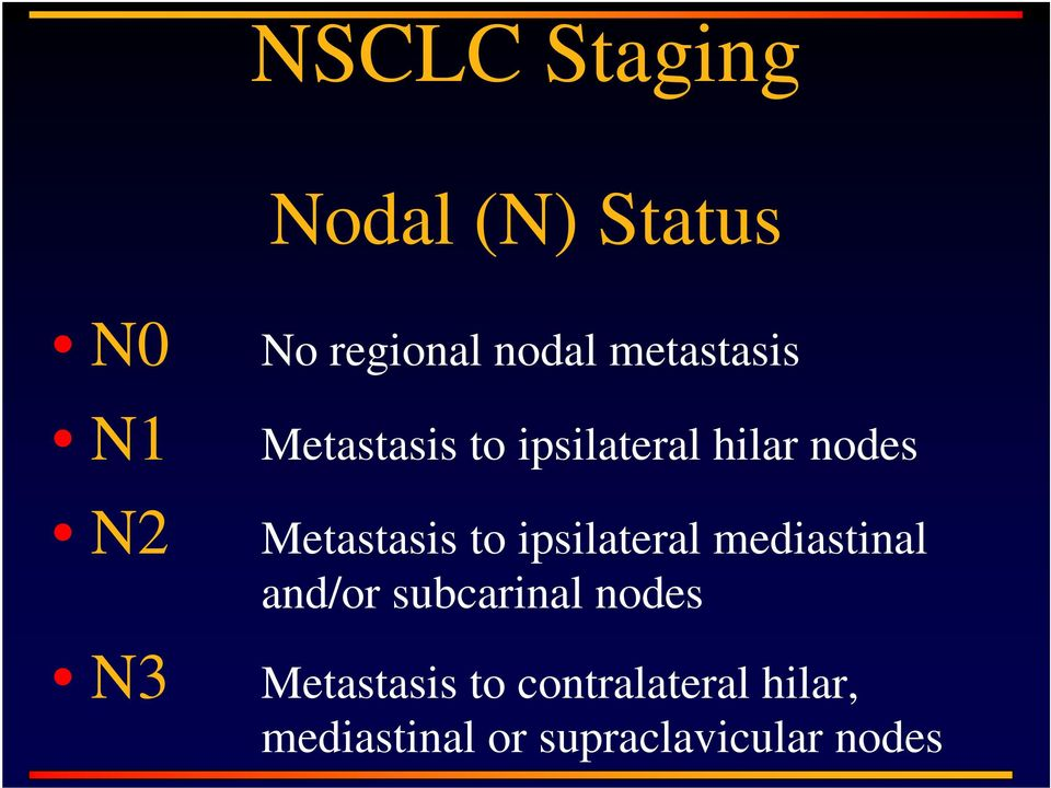 to ipsilateral mediastinal and/or subcarinal nodes