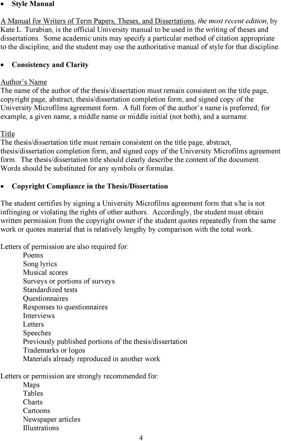 collection of american thesis and dissertations The student adheres to the university requirements for the preparation of theses and dissertations as described in this guide and prepares a thesis/dissertation acceptable to university microfilms incorporated (umi), which is the publisher of american university theses and dissertations.