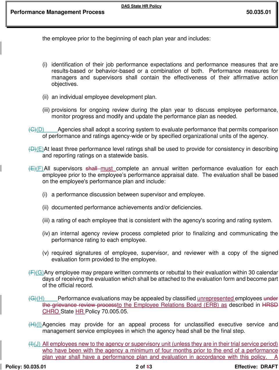 subject performance management process number division chief performance measures for managers and supervisors shall contain the effectiveness of their