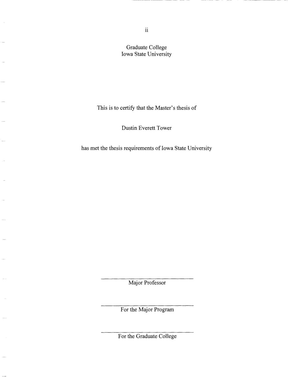 dissertation requirements analysis A registrar administration system requirements analysis and product recommendation for marine corps university, quantico, va by master's thesis 4 nwc naval war college.