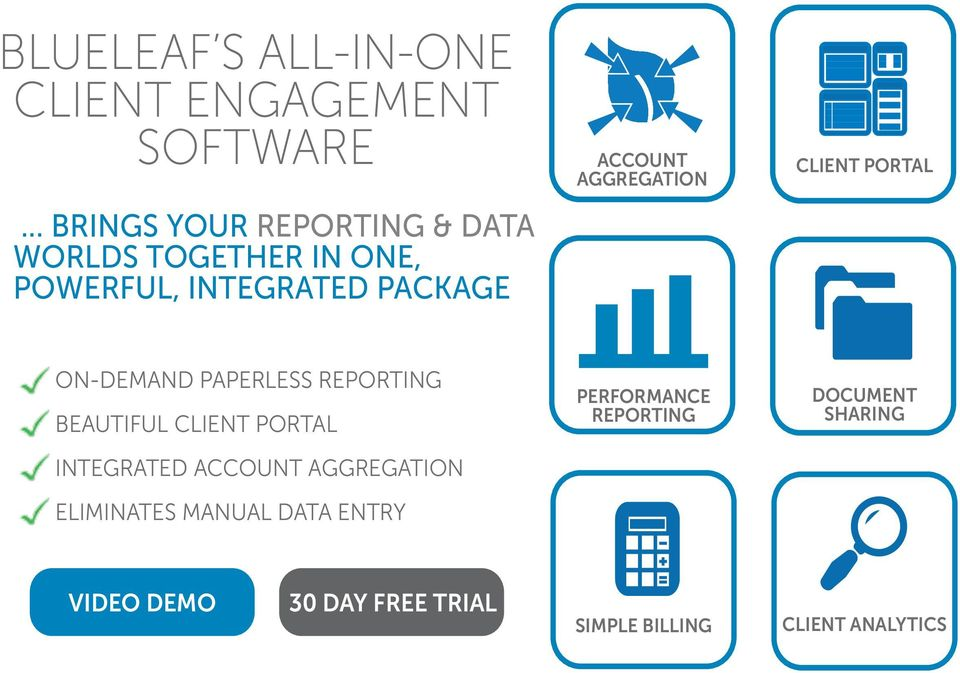 AGGREGATION CLIENT PORTAL ON-DEMAND PAPERLESS REPORTING BEAUTIFUL CLIENT PORTAL INTEGRATED