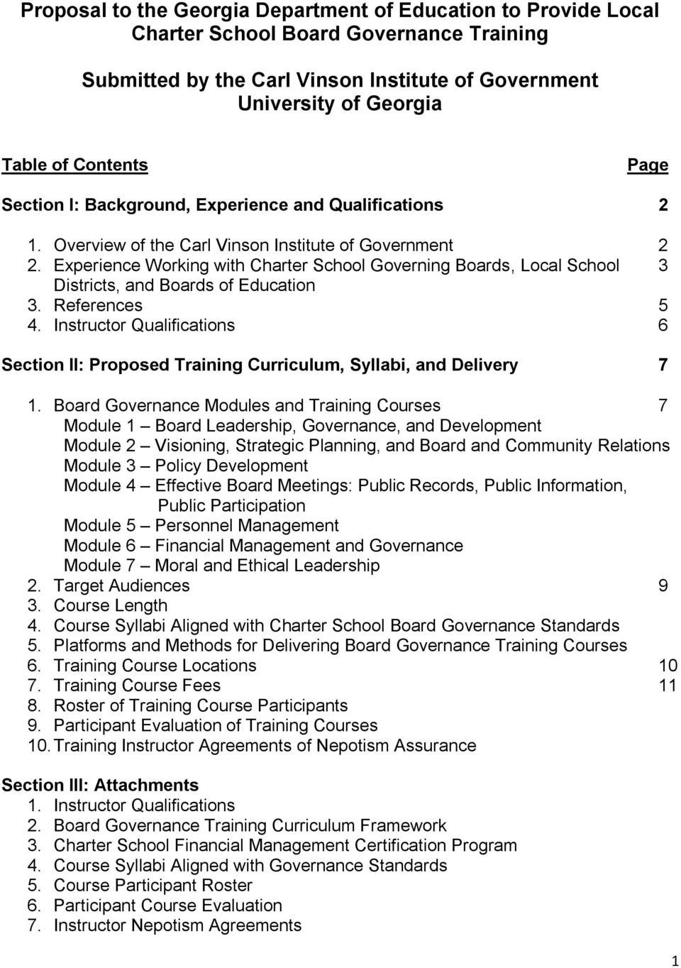 Review sample school proposals and write your own
