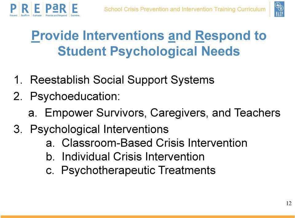 psychotherapy psychology and individuals personal crisis Personal crisis plan i do not want the following people involved when and how to use this treatment/complementary therapy.