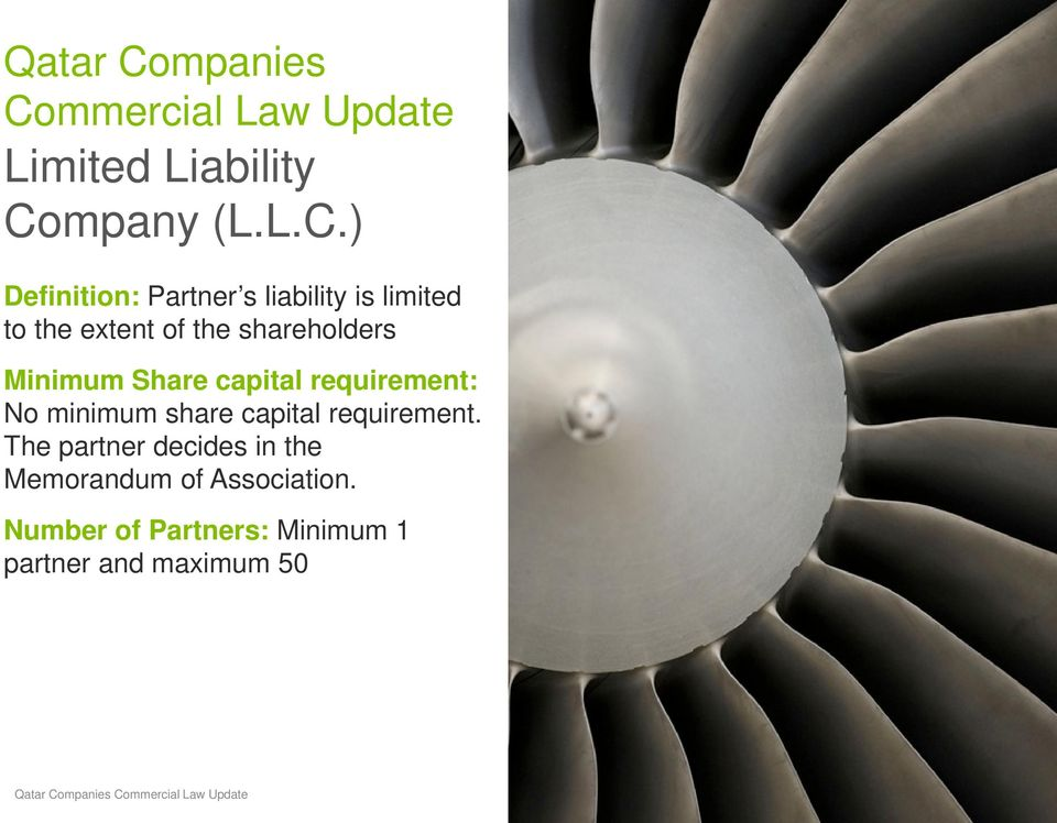mmercial Law Update Limited Liability Co