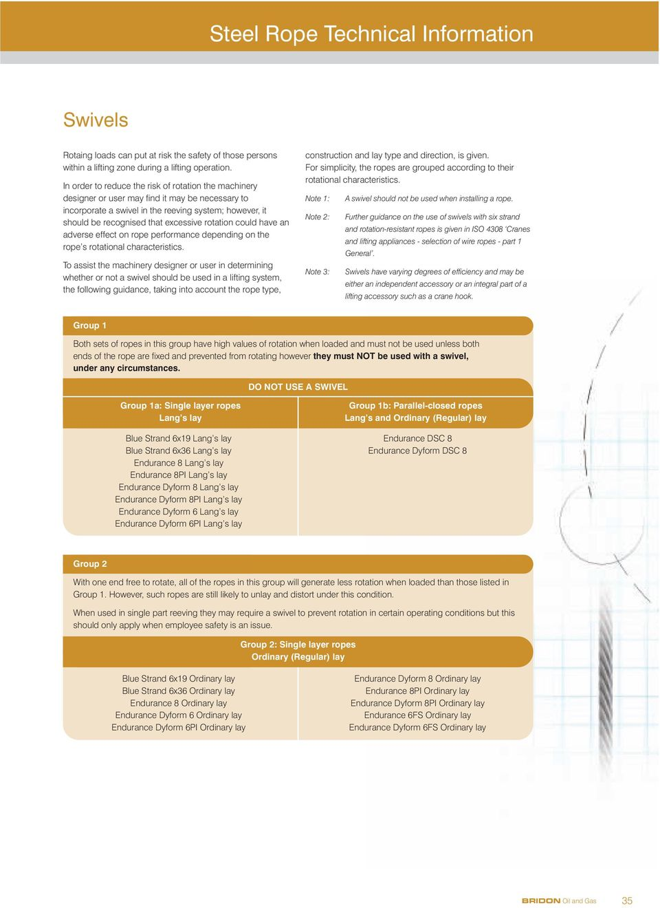 Steel Rope Technical Information - PDF