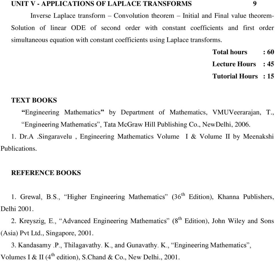 Higher Engineering Mathematics by BS Grewal PDF Free Download