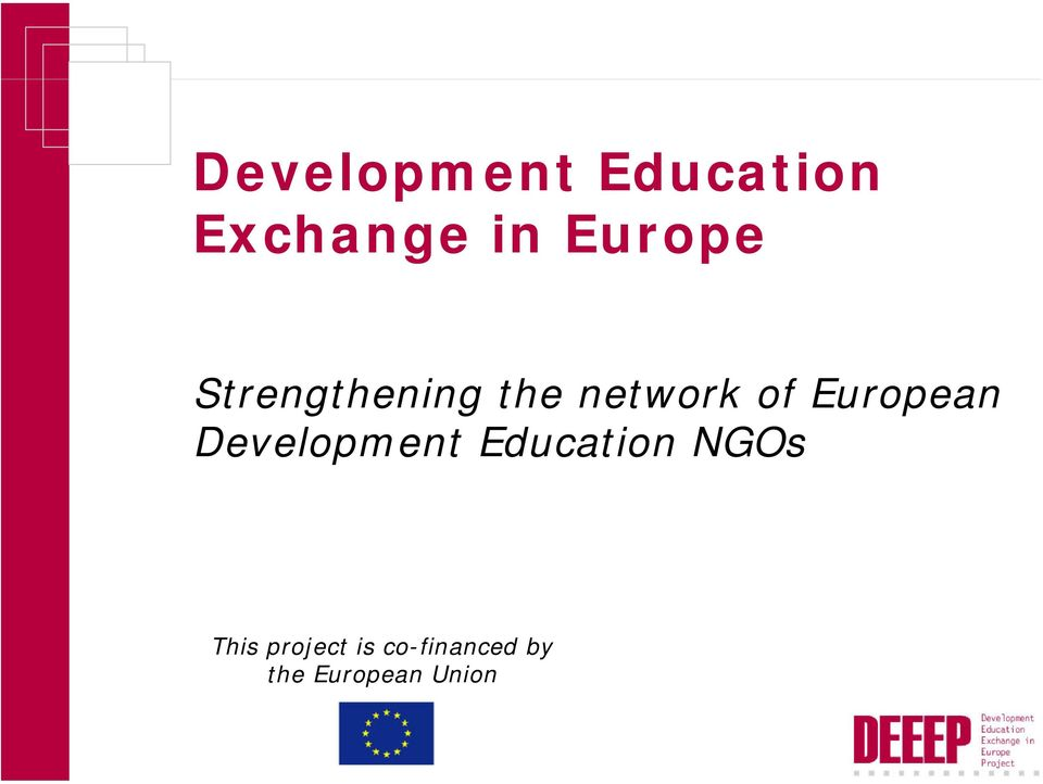 European Development Education NGOs