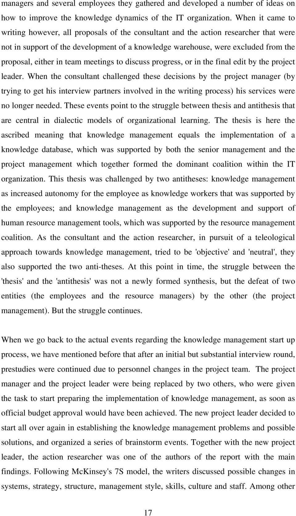 In learning organization pdf thesis