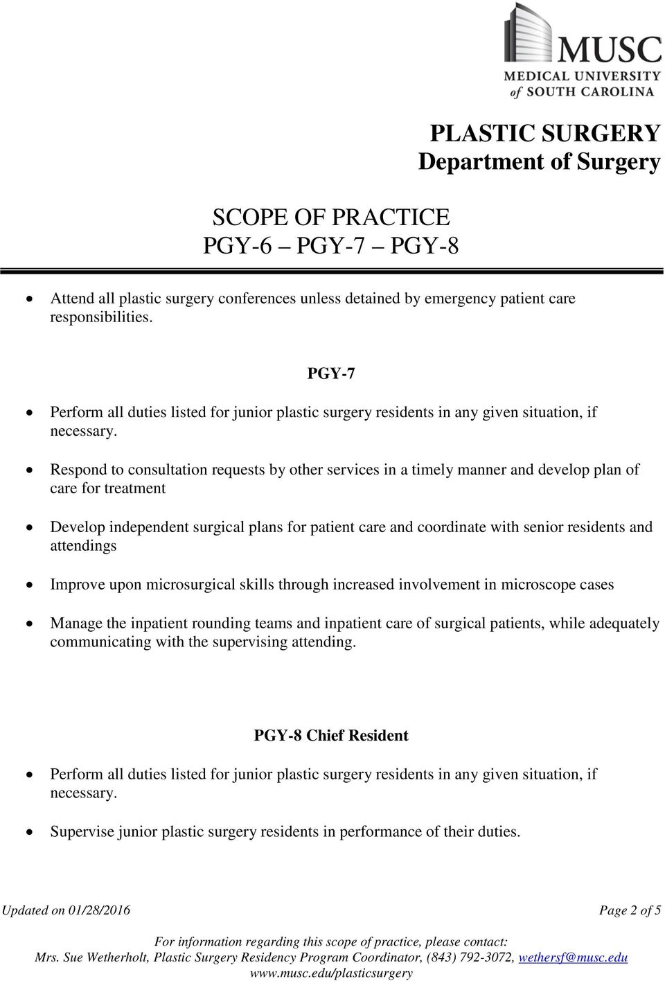 Respond to consultation requests by other services in a timely manner and develop plan of care for treatment Develop independent surgical plans for patient care and coordinate with senior residents