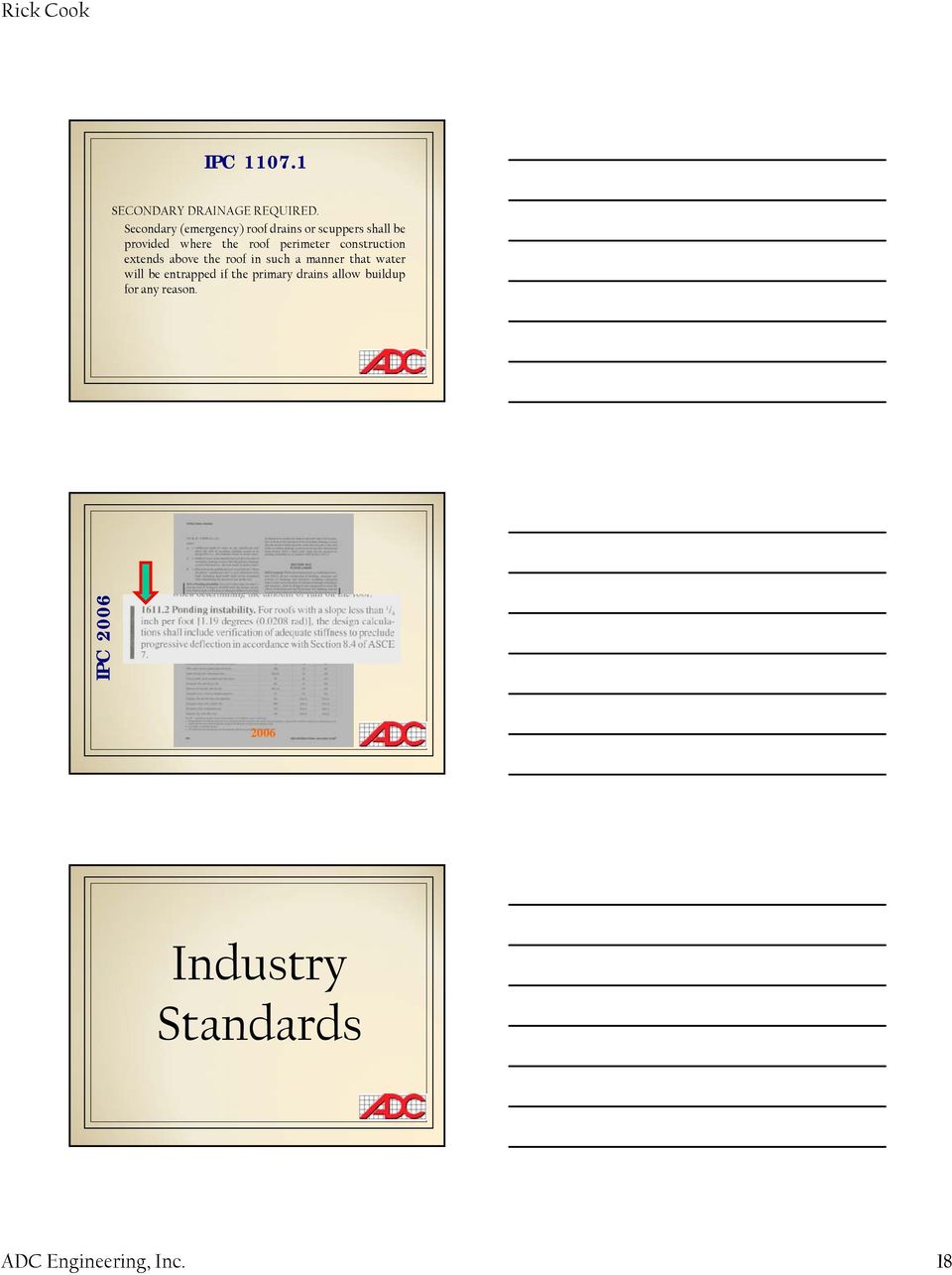 Codes, Industry Standards and Testing - PDF