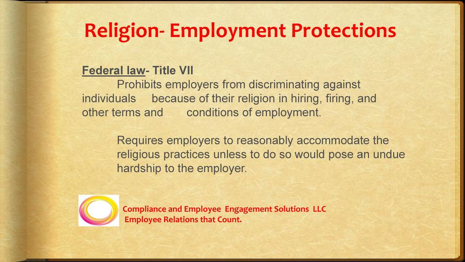 other terms and conditions of employment.