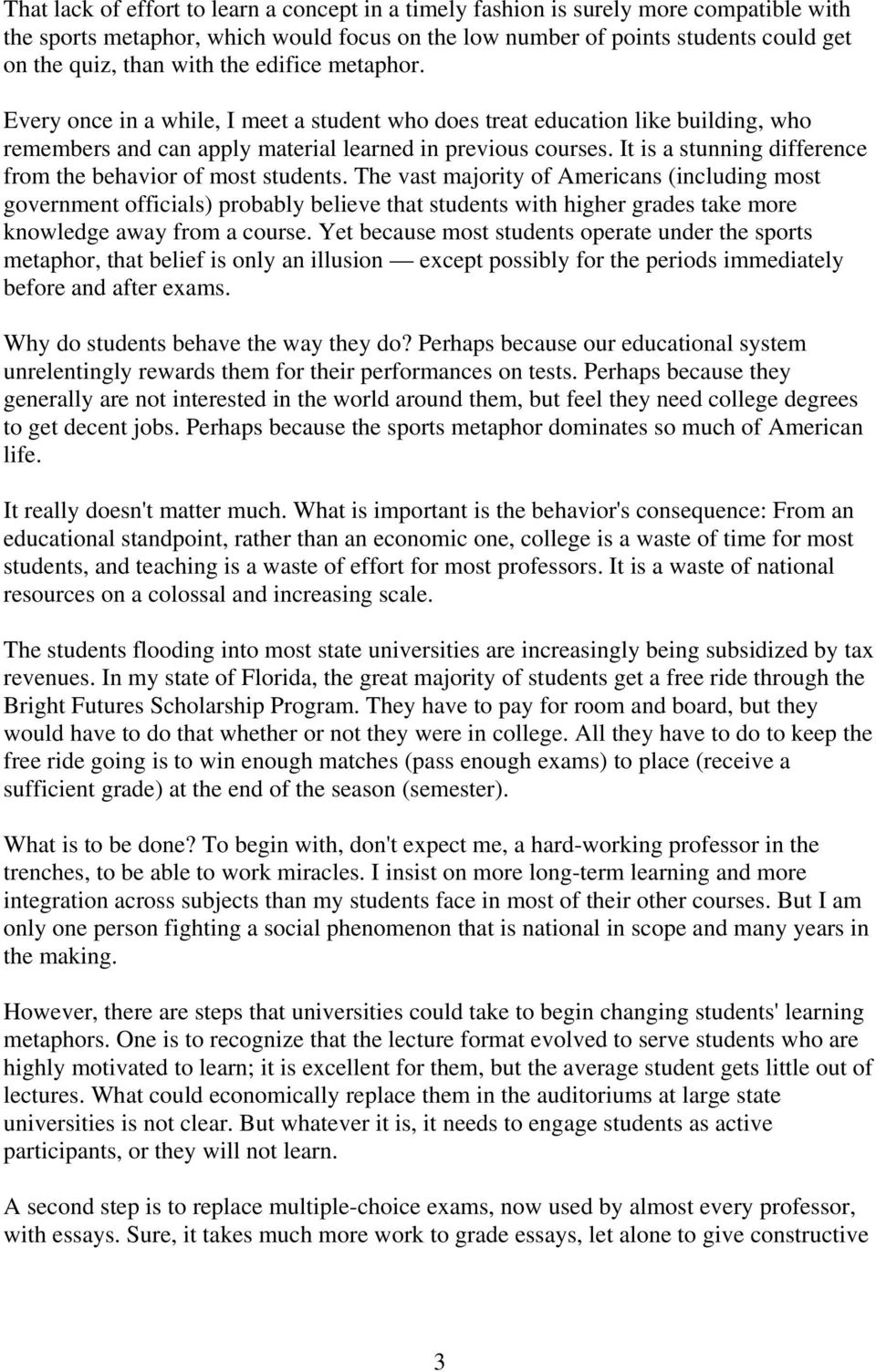 metaphor essay just scoring points by walter r tschinkel pdf  just scoring points by walter r tschinkel pdf it is a stunning difference from the behavior analogy essay