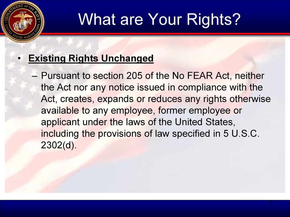 any notice issued in compliance with the Act, creates, expands or reduces any rights