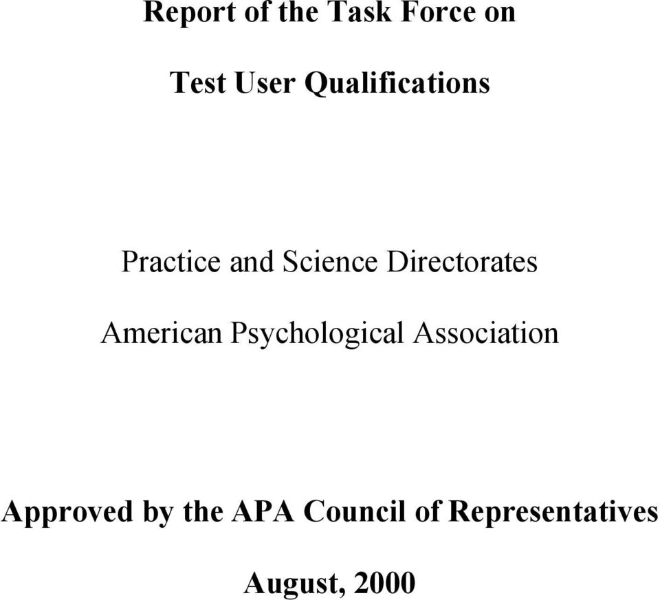 psychology and association test