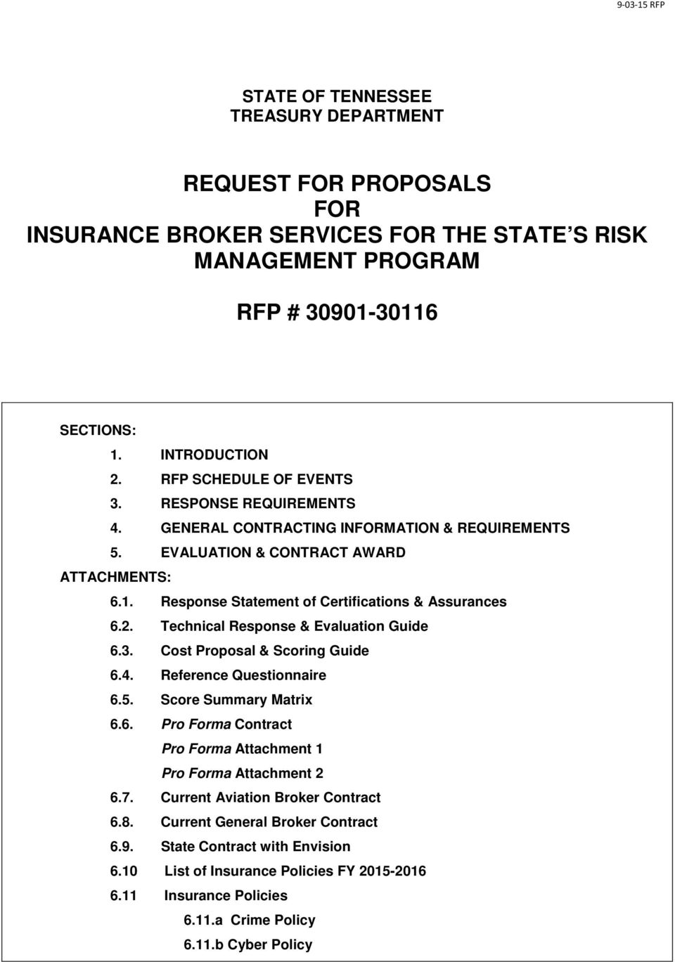 rfp scoring matrix template - request for proposals for insurance broker services for