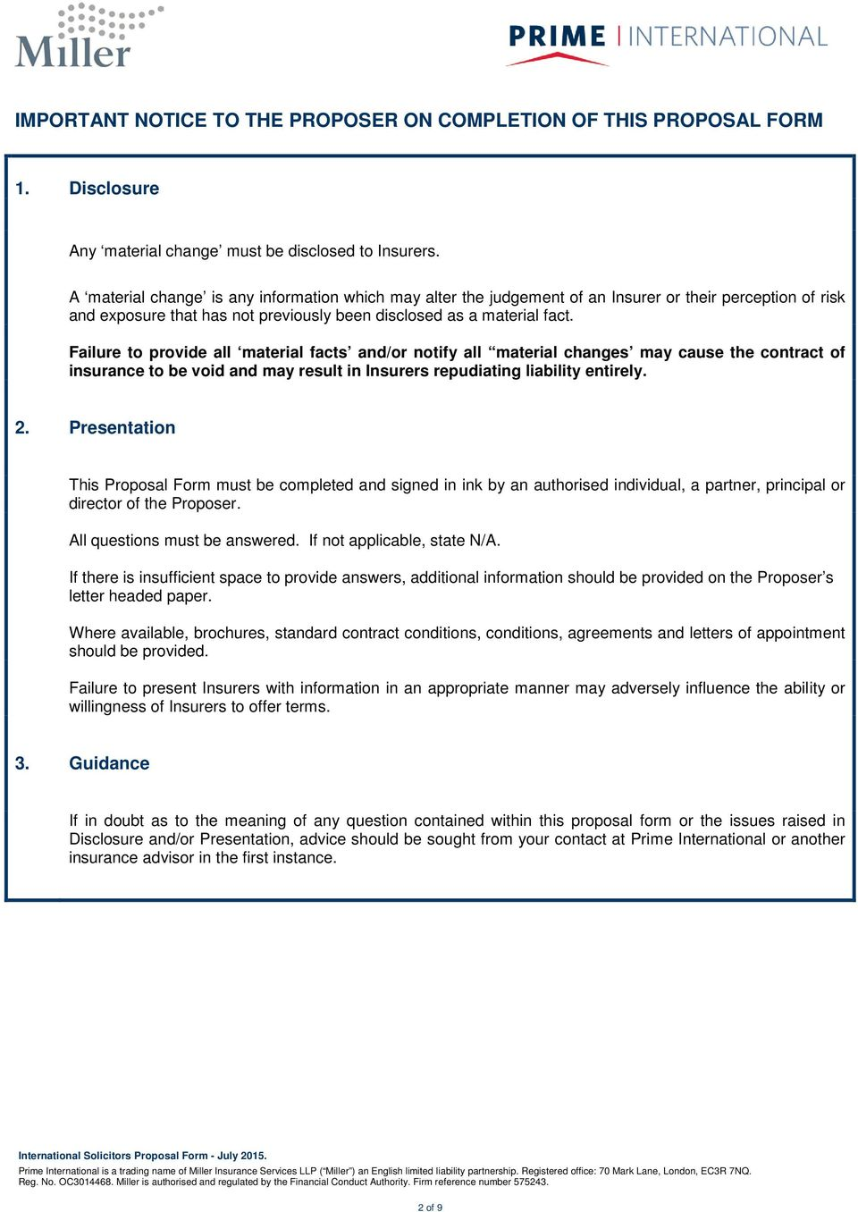 Indemnity and Guarantee Contract
