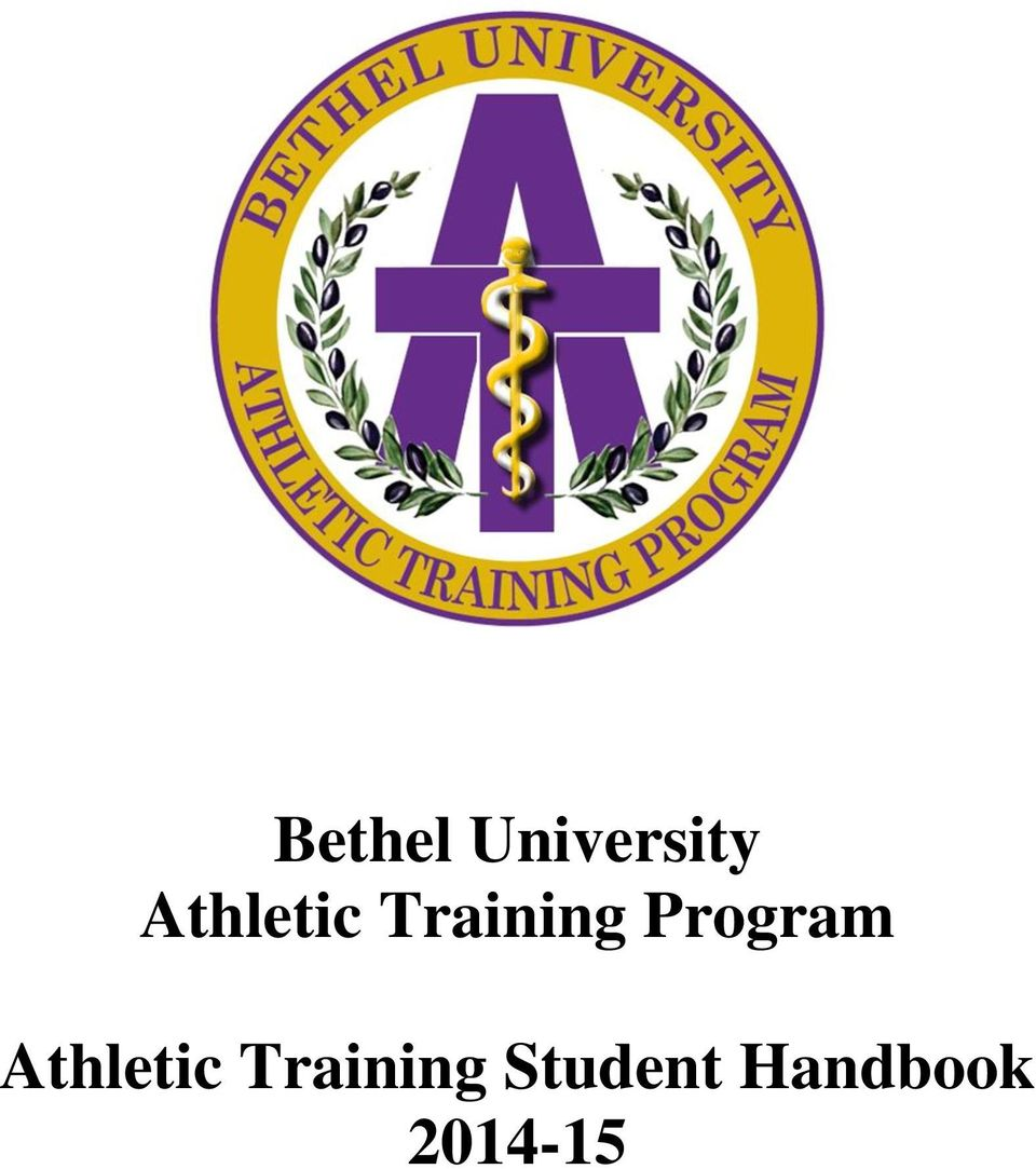 Bethel University Athletic Training Program Athletic