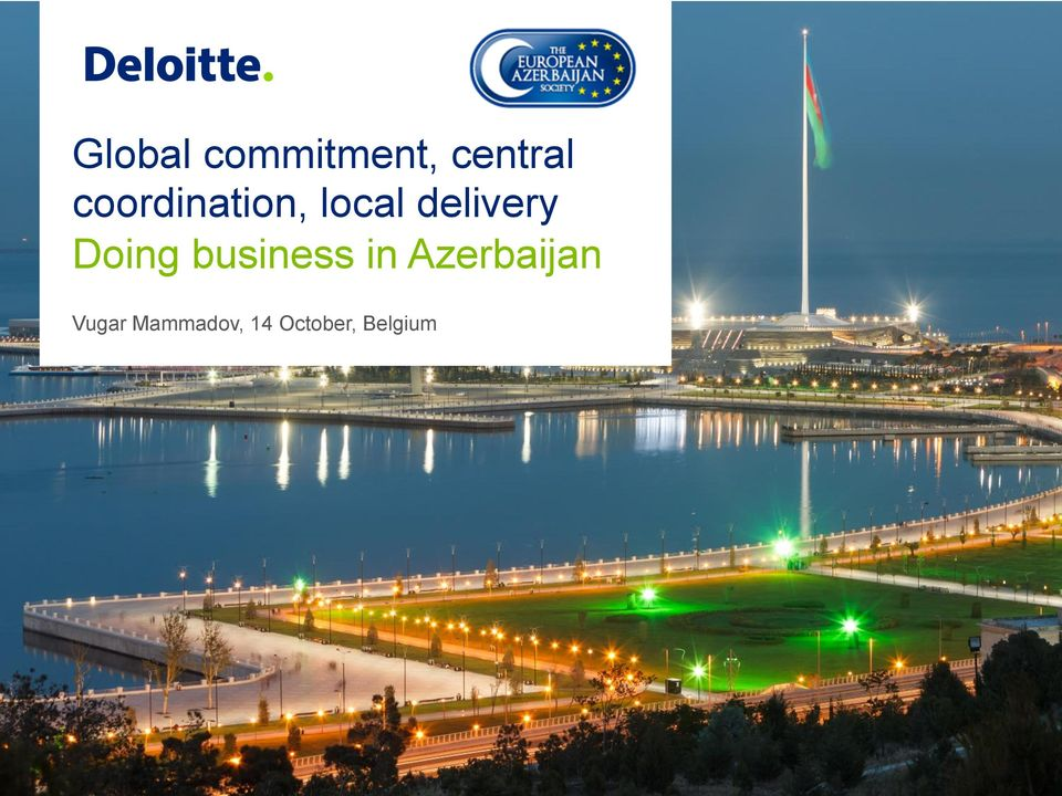 Doing business in Azerbaijan