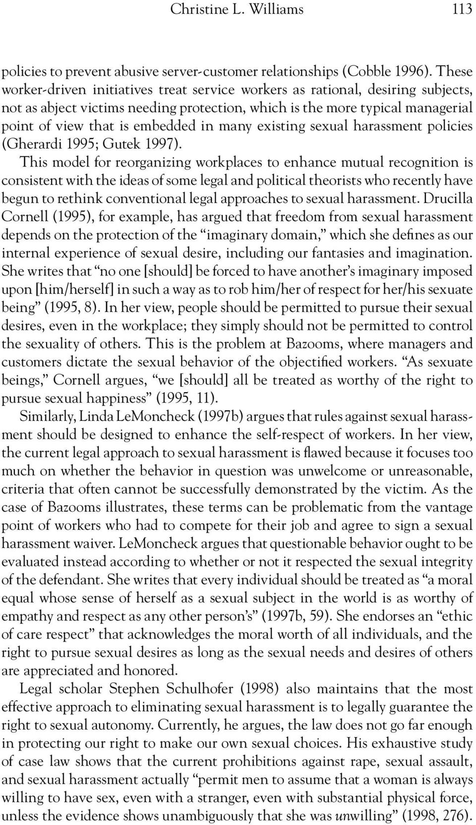 an analysis of sadomasochism in sex Against sadomasochism: a radical feminist analysis is a 1982 radical  for the journal of sex  arguments against sadomasochism in the book to religious arguments .