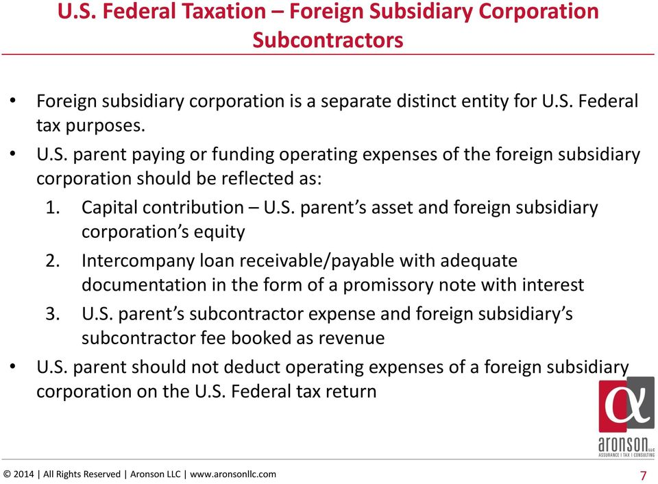 federal foreign tax credit form